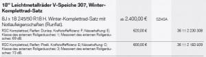 Winterräder X3
